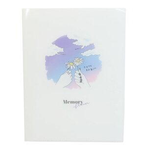 ファイル 10ポケット A4 クリアファイル アオハル MEMORY FLOWER クラックス 新学期準備文具 かわいい 女の子 小学生 中学生 グッズ シネマコレクション