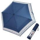ムーミン 折りたたみ傘 3段 折畳傘 ラインフラワー 北欧 カミオジャパン 雨晴兼用 かわいい …