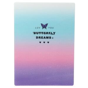 下敷き デスクパッド Butterfly ST バタフライドリーム クーリア 新学期準備文具 かわいい 女の子向け 小学生 中学生 グッズ メール便可 シネマコレクション