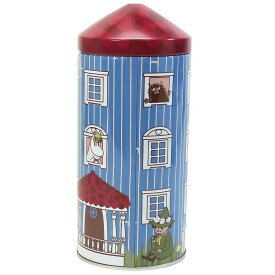 ムーミン フェイスタオル ムーミンハウス 缶入り タオルギフト 実のなる木 北欧 丸眞 プレゼント キャラクター グッズ シネマコレクション