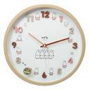ミッフィー 壁掛け時計 アイコン ウォールクロック ナチュラル ディックブルーナ ティーズファクトリー インテリア雑貨 キャラクター …