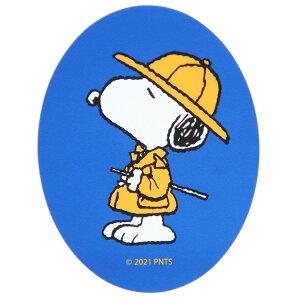 スヌーピー ステッカー ダイカット ビニール ステッカー ブルー スモールプラネット ノスタルジカシリーズ デコシール プチギフト キャラクター グッズ メール便可 シネマコレクション