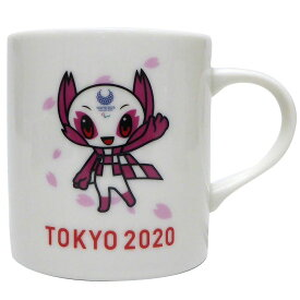 東京2020パラリンピック マグカップ 陶磁器製 MUG パラリンピックマスコット ケイカンパニー ソメイティ プレゼント グッズ シネマコレクション