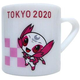 東京2020パラリンピック プラコップ プラ マグカップ パラリンピックマスコットA ケイカンパニー ソメイティ 割れにくい食器 グッズ シネマコレクション