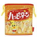 巾着袋 亀田製菓 ハッピーターン きんちゃくポーチ おやつマーケット ジェイズプランニング 小物入れ キャラクター グ…