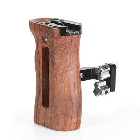 【送料無料】SmallRig 木製ハンドルグリップ ウッドグリップ 左右使用可能 カメラケージハンドル コールドシューマウント装備-2093【楽天海外直送】