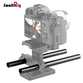 SmallRig サポートロッド φ15mmロッド 15mmロットシステム用 軽量 200mm カメラロッド 【2本セット】1051 【日本国内倉庫発送】
