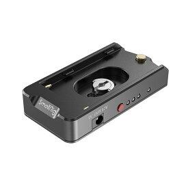 【月間優良ショップ受賞】SmallRig公式 送料無料NP-Fシリーズバッテリー用アダプタープレート-EB2504【日本国内倉庫発送】
