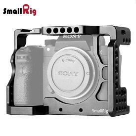 【送料無料】SmallRig Sony A7RIII/Sony A7 III カメラ専用ケージ ILCE-7RM3 a7R Mark III 対応 ケージキット コールドシュー付き 拡張カメラケージ 軽量 取付便利 耐久性 耐食性 DSLR 装備 2087b【日本国内倉庫発送】