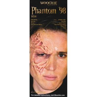 京劇臉譜魅影的真相中刪除。 特殊化妝 WO210 | 瘡,燒傷,爆炸、 槍擊、 藥物、 肩膀、 屍體,血腥,行屍走肉 | 特殊化妝、 服裝、 節日、 萬聖節、 化裝、 党、 戲劇、 恐懼、 電影院秘密 | WOOCHIE、 幻影 \' 98