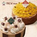サンクドノア ケーキ ケーキセット 2個 12cm スイートパンプキンとナッツキャラメル【アントルメセレクション】10月限…