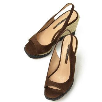 佩晴打开脚趾高坡凉鞋 P13 0240 安特光热 (布朗)