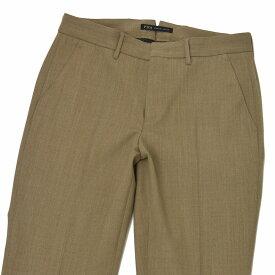 PT01 woman pants【ピーティーゼロウーノ】クロップドパンツ PO36 SOPHIE 0060 polyester wool BROWN(ブラウン)