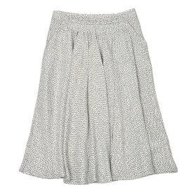Bagutta【バグッタ】ドットプリントスカート MICHELAS 10090 610 レーヨン ホワイト ブラック