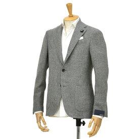 LARDINI【ラルディーニ】イングリッシュツイードジャケット EASY JN950AQ/IGA51539/5 ウール ライトグレー