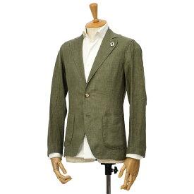 LARDINI【ラルディーニ】リネンシャツジャケット JPAMAJ/EGC1006/500 リネン カーキ