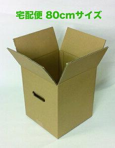 ダンボールケース 無地 80サイズ 20枚入り 宅配ボックス 引越し 輸送用 アレンジメント 鉢物 花束 段ボール 収納ケース