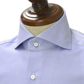 BARBA【バルバ】ドレスシャツ BRUNO I1U262PZ1902U フラシ コットン ツイル ダークブルー
