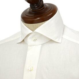 BARBA【バルバ】ドレスシャツ BRUNO I1U262U06227U フラシ コットン ブロード ホワイト