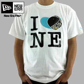新埃拉S/S T恤眼睛爱新埃拉白New Era SS TEE I LOVE NE White