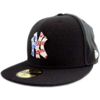 5b4c7800d New era Cap iced-up New York Yankees USA 4th black / Swarovski New Era  ICEDUP NY Yankees U S A... Black/Swarovski