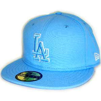 New Era Cap BLUE LOGO L.A Dodgers SkyBlue/SkyBlue/White Frame new era Cap blue logo Los Angeles Dodgers sky blue / sky blue / white frame