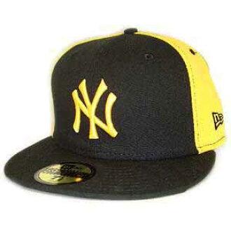 New era Cap doublewormmy New York Yankees Black   Yellow   Yellow New Era  Cap DOUBLE WHAMMY New York Yankees Black Yellow Yellow 93992fa756d2