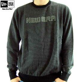 ニューエラ L/S Tシャツ テラス ブラック/チャコールNew Era L/S TEE TERRACE Black/Charcoal【あす楽対応_近畿】【あす楽対応_中国】【あす楽対応_四国】【あす楽対応_九州】