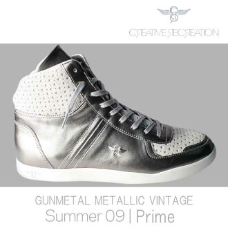 Creative recreation Milano high premium gunmetal / metallic / vintage Creative Recreation MILANO HI PREMIUM Gunmetal/Metallic