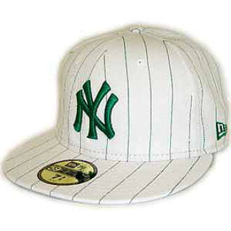 adbec10a2b3f7 cio-inc  New Era Cap PINSTRIPE New York Yankees WHITE KELLY GREEN PINSTRIPE  new era Cap pinstriped New York Yankees white   Kelly green Pinstripe