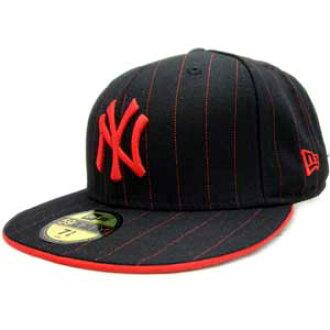 3ab9cc144f9f3 cio-inc  New gills cap pin-stripe New York Yankees black   red pin-stripe  New Era Cap PINSTRIPE New York Yankees Black Red Pinstripe