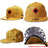 New era x kinnikuman man Cap sunshine yellow / black / red New Era×KINNIKUMAN Cap SUNSHINEMAN Yellow / Black