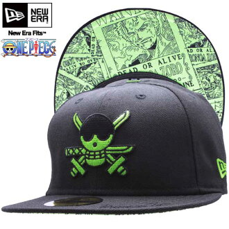 One piece x new era Cap under visor roronoa Zoro black / green ONE PIECE×New Era Cap UNDER VISOR Roronoa Zoro Black/Green