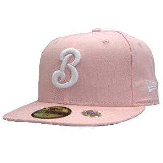 新埃拉盖子白标识横滨(横滨)海湾明星粉红/白New Era Cap WHITE LOGO Yokohama Bay Stars Pink/White