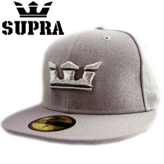 新埃拉×Supra盖子银子标识玻璃杯二灰色New Era×SUPRA Cap Silver logo Glass 2 Gray