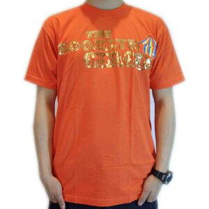 【SALE】ザ ブルックリンサーカス ベーシック クラシック S/S TEE オレンジ/ゴールド ホイール ロゴTHE BROOKLYN CIRCUS Basic Classic S/S TEE Orange/Gold Foil Logo【あす楽対応_近畿】【あす楽対応_中国】【あ