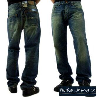 D 牛仔裤大本钟宽松锥形 de reg オーガッニク 蛇-110636032 大 BENGT73 裸体牛仔裤大毕松圆锥的腿