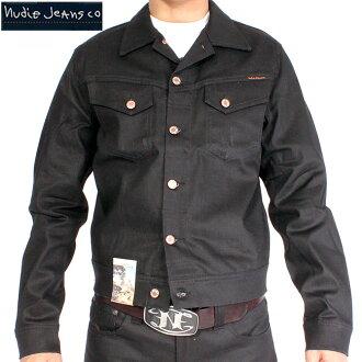 Nudie jeans Connie dry black coated jacket NUDIE JEANS CONNY DRY BLACK COATED JACKET