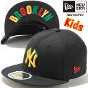 ニューエラ 5950キッズキャップ ニューヨークヤンキース ブラック マニラ ラスタ New Era 59Fifty Kids Cap New York Yankees Black Ma…