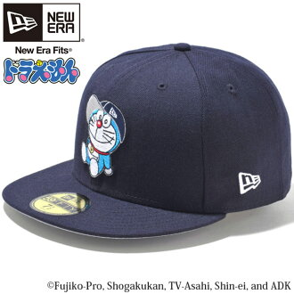 Doraemon x new era 5950 Cap Navy multi grey snow white Doraemon×New Era 59FIFTY Cap Navy Multi Gray (Grey) Snow White