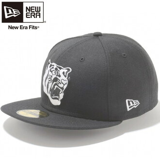New era Cap 5950 Hanshin Tigers Tiger logo black white New Era 59Fifty Cap Hanshin Tigers Tora Logo Black White