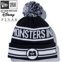 モンスターズインク×ニューエラ ニットキャップ ポンポンニット モンスターズインクロゴ ブラック Monsters Inc×New Era Knit Cap Po…