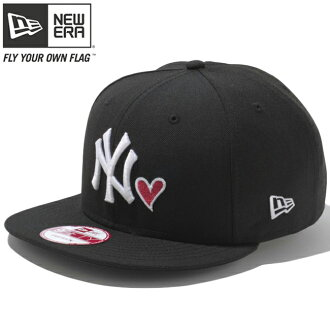 New era 950 Snapback Cap heart logo collection New York Yankees black heart Strawberry New Era 9fift Cap Heart Logo New York Yankees Black Heart