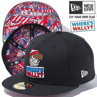 Wally X new gills 5950 cap multi-logo inner design black black multicolored Snow white Wally X New Era 59FIFTY Cap Multi Logo Inner Design Black