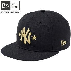 6b872e4a685 ニューエラ 950 スナップバック キャップ ニューヨーク ヤンキース ツースター ブラック メタリックゴールド New Era 9FIFTY  Snapback Cap