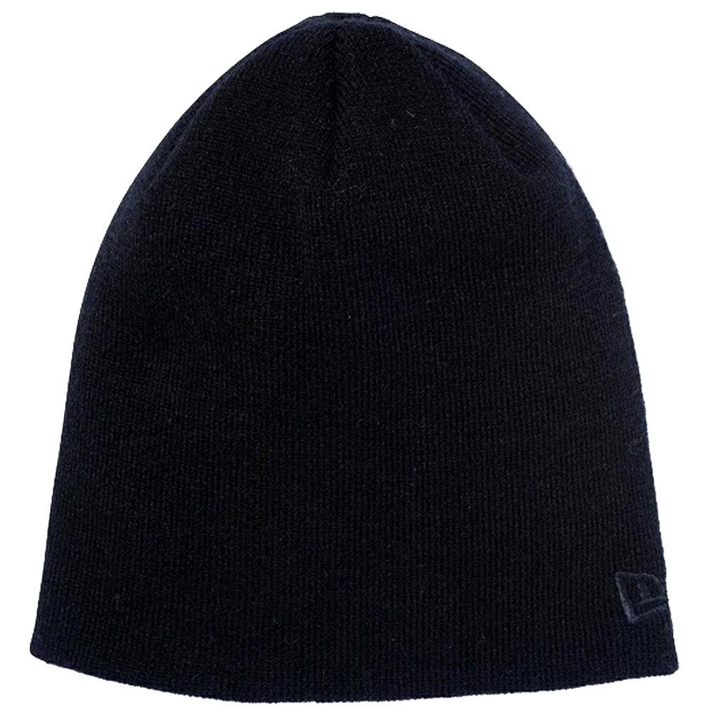 ニューエラ ニットキャップ ベーシック ビーニー カスタム フラッグカラー ブラック ブラック New Era Knit Cap Basic Beanie Custom Flag Color Black Black【あす楽対応_近畿】【あす楽対応_中国】【あす楽対応_四国】【あす楽対応_九州】