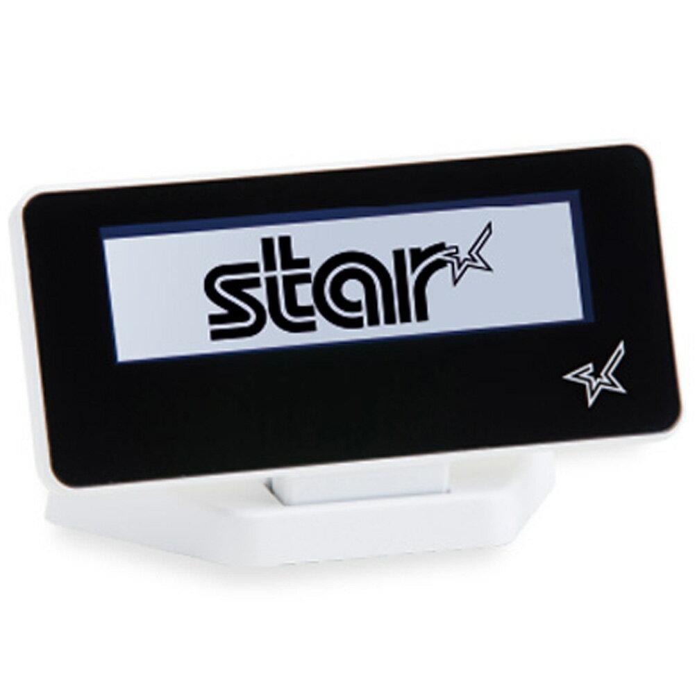 スター精密 mPOP対応カスタマーディスプレイ SCD222U WHT USB接続 スノーホワイト Star Micronics mPOP Customer Display SCD222U WHT USB Connection Snow White