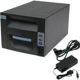 スター精密 据え置き型感熱式プリンター FVP10シリーズ FVP10UE3-24J1 GRY JP FVP10UE3-24J1-JP-PS-GRY セット(ACアダプター) Ethernet接続 グレー Star Micronics Stationary Thermal Printer FVP10UE3-24J1 GRY JP FVP10UE3-24J1-JP-PS-GRY Set (including AC Adapter)