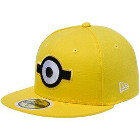 ミニオンズ×ニューエラ 5950キッズ キャップ マルチロゴ 一つ目 サイバーイエロー マルチカラー スノーホワイト Despicable Me Minion×New Era 59FIFTY Kids Cap Multi Logo Eye【あす楽対応_近畿】【あす楽対応_中国】【あす楽対応_四国】【あす楽対応_九州】
