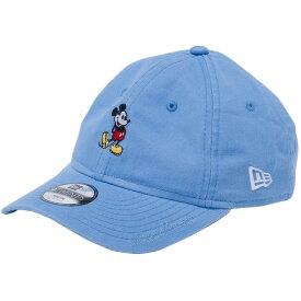 ディズニー×ニューエラ 920キッズキャップ クローズストラップ スタンディング ミッキーマウス ミニ スカイブルー ホワイト Disney×New Era 9TWENTY Kids Cap Mickey Mouse